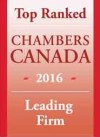 Chambers Canada - Top Ranked 2016