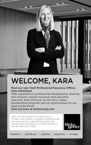Kara Sutherland Welcome Ad