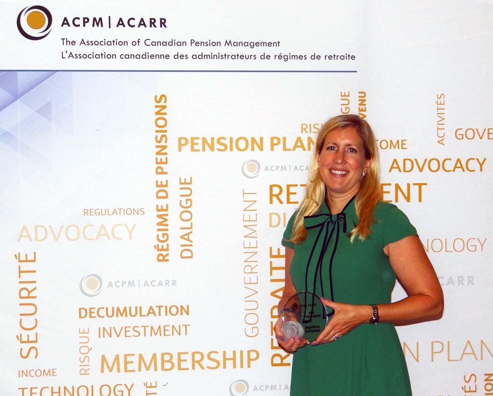 Stephanie Kalinowski Award Winner