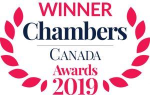 2019 Chambers Canada Winner Badge