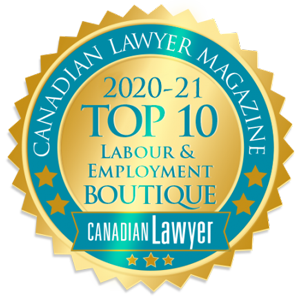 Canadian Lawyer recognition 2020-2021