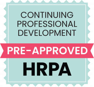 HRPA Approved CPD Logo